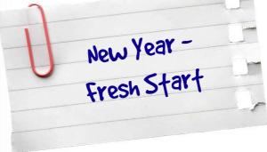 New Year- Fresh Start